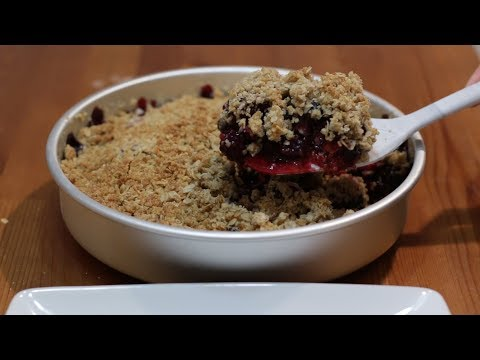 How to Make a Berry Crisp | Amazing Triple Berry Crisp Recipe from YouTube · Duration:  6 minutes 30 seconds