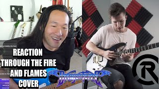 DragonForce Herman Li Reaction to Cole Rolland Through the Fire and Flames Cover