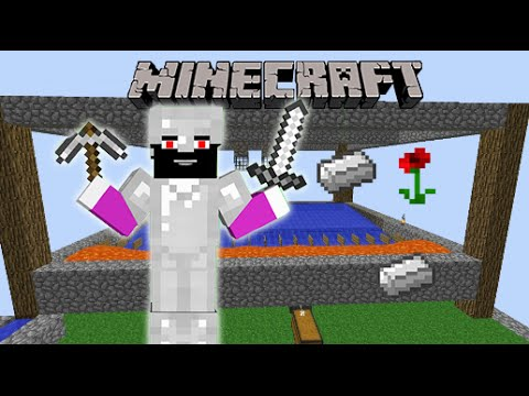 Minecraft | Omega Realm Skyblock | IRON FARM!!!!!!!!!!!