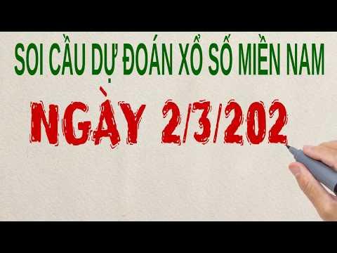 Soi Cầu XSMN 2/3/20120 - Dự đoán Xổ Số Miền Nam  Chính Xác  TPHCM- ĐỒNG THÁP - CÀ MAU