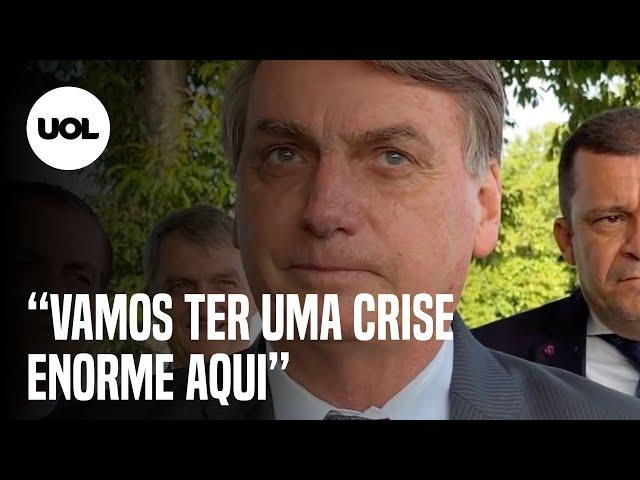 "sddefault Bolsonaro alerta ""Brasil está no limite"" e manda recado para o STF (veja o vídeo)"