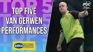 TOP 5 | Michael van Gerwen Performances