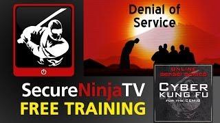 SecureNinjaTV Cyber Kung Fu Mod 10 Denial of Service