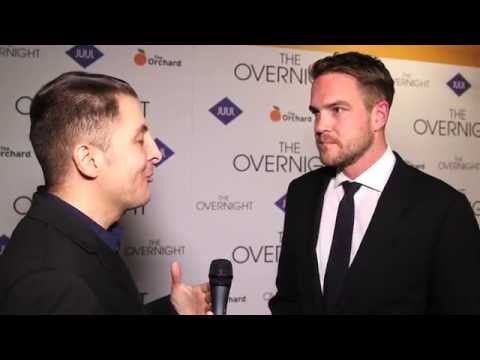 Patrick Brice At The NY Premiere Of The Overnight