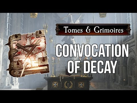 [Vermintide 2] Tome/Grimoire Locations - Convocation of Decay