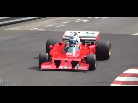 F1 grand prix historic MONACO 2016  Pure Sound HD