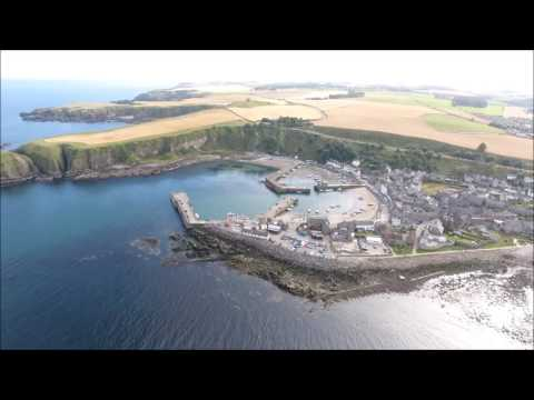 Drone Footage   Stonehaven Scotland