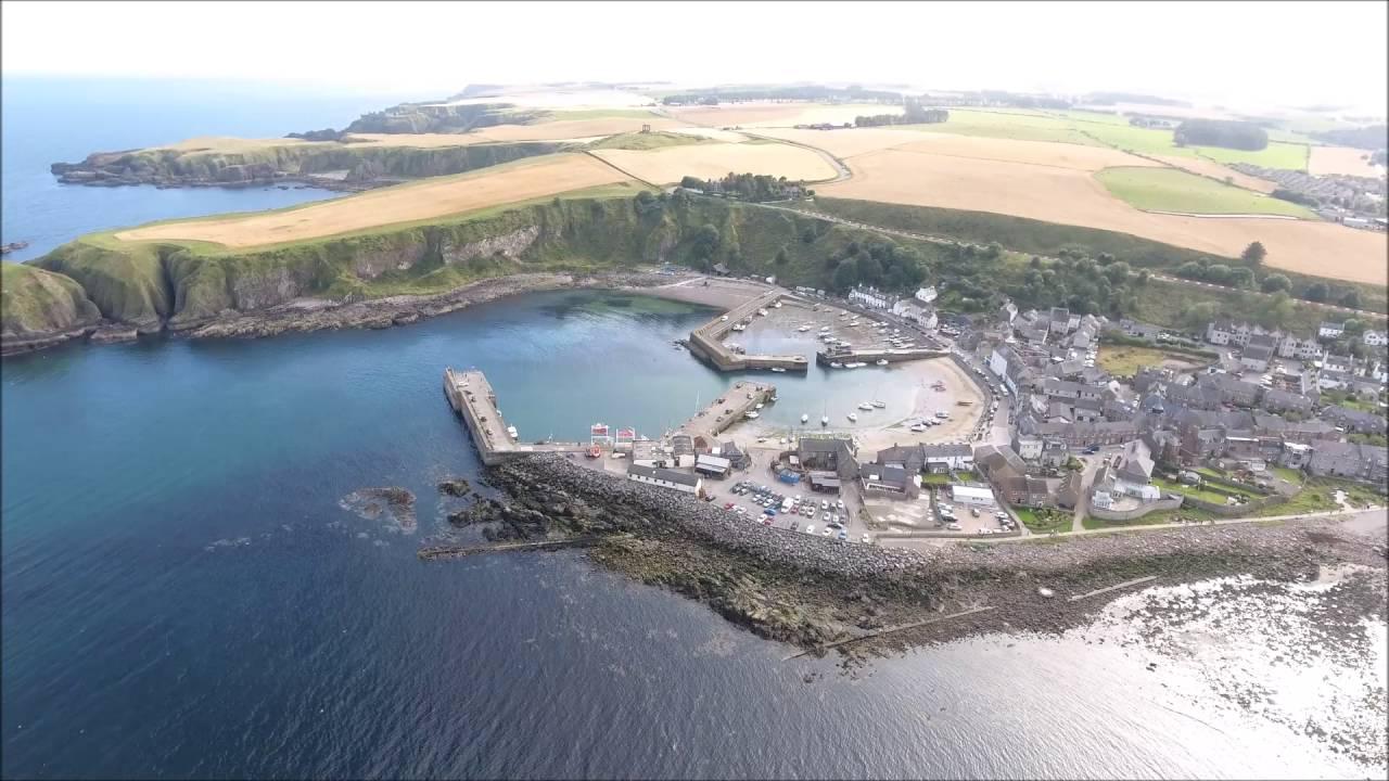 Drone Footage Stonehaven Scotland Youtube
