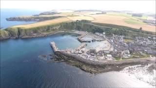 Drone Footage   Stonehaven Scotland