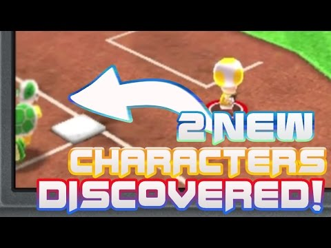 2 SECRET Characters DISCOVERED! - Mario Sports Superstars