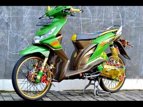 Cah Gagah | Video Modifikasi Motor Honda Beat Airbrush Keren Terbaru Part 3