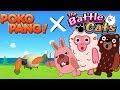 The Battle Cats | NEW 'Line - Pokopang' COLLAB! [Playthrough]