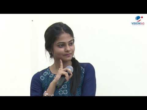 Topper's Talk with Artika Shukla (AIR-04) & Ashish Tiwari (AIR-06),  CSE-2015 - Q&A Session