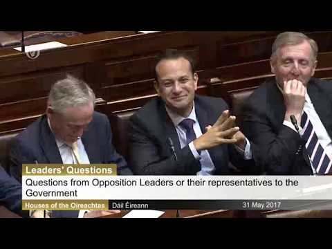 Enda Kenny's answers his final Leaders' Questions