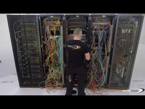 Technimove Cabling (Before & After)