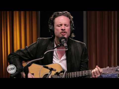 "Father John Misty performing ""Real Love Baby"" Live on KCRW"