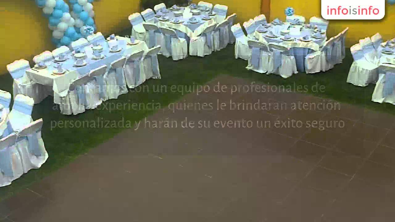 Sal n de fiestas infantiles en nezahualc yotl jard n for Jardines pequenos para eventos df