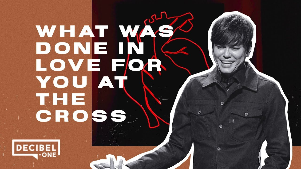 Image result for Joseph Prince - What was done in love for you at the cross