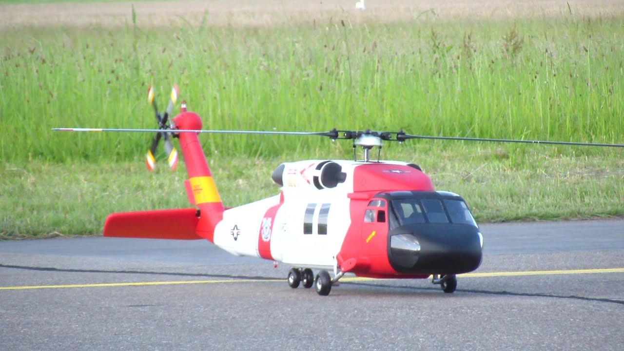 Sikorsky UH-60 US Coast Guard Scale RC Helicopter