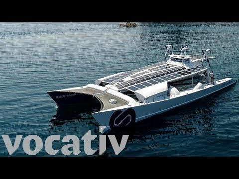 The World's First Hydrogen-Powered Boat
