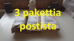 Pikaisesti 3 pakettia postista