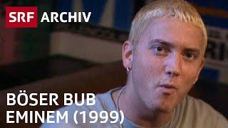 Rapper Eminem im Interview (1999) | Hip-Hop und Rap | SRF Archiv