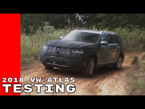 2018 VW Atlas Testing Before Final Production