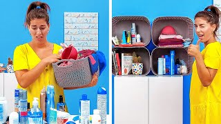 30 SMART IDEAS TO ORGANIZE YOUR SPACE  Cleaning Routine by 5-Minute Recipes!