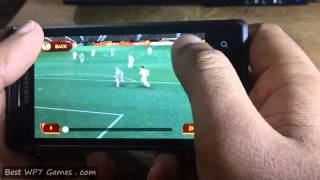pes 2011 - pro evolution soccer | wp7 game review