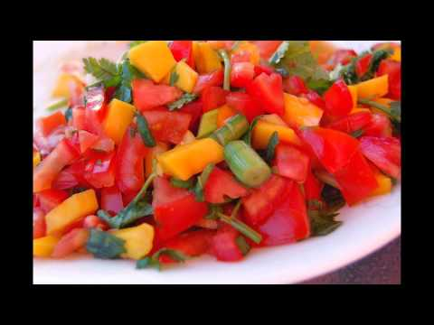 Avocado, Tomato And Mango Salsa by thefoodventure.com