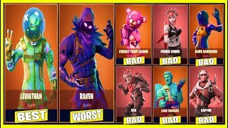 10 MOST UNIQUE SKINS EVER CREATED In FORTNITE! «DOIT REGARDER»