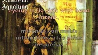 Jethro Tull - Aqualung subtitulado español lyrics