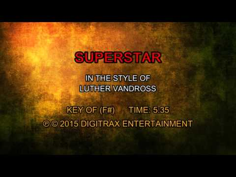 Luther Vandross - Superstar (Backing Track)