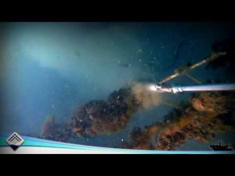 Cavitech underwater cleaning