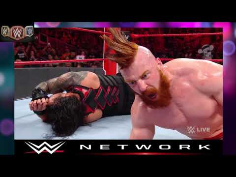 Wwe Live Match Roman Reigns Vs Sheamus  Raw Today Feb