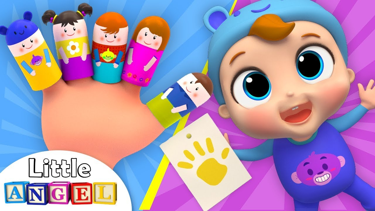 Finger Family | Baby Learns Colors | Kids Songs by Little Angel