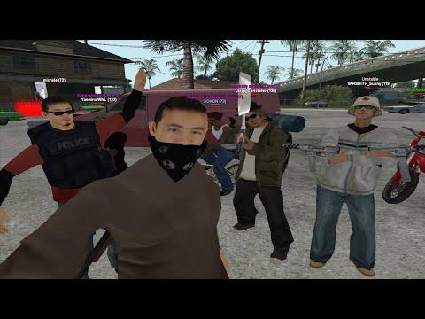 GTA San Andreas Multiplayer Awesomeness | SAMP Online