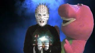 Pinhead Vs Barney The Dinosaur