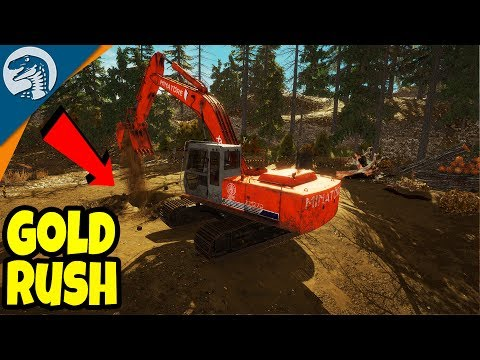 FIRST LOOK: MAKING A $1,000,000,000 GOLD MINE | Gold Rush: The Game Gameplay