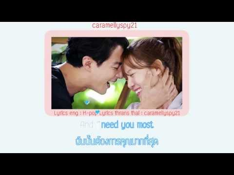 [KARAOKE-THAISUB] And i need you most - HEY