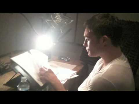 Cassandra Clare and Ed Westwick talk about the Clockwork Prince Audiobook!
