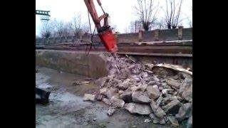 видео Аренда гидромолота в Минске