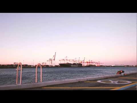 Ship Docking At Fremantle Port