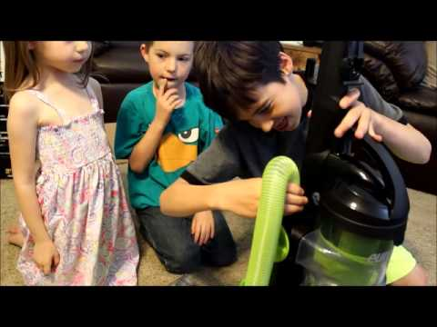 Eureka Airspeed ONE Turbo assembly for kids
