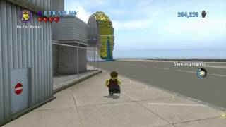 Lego City Undercover (wii U) ~ Collectables Guide - Lego City Airport (part 3/4)
