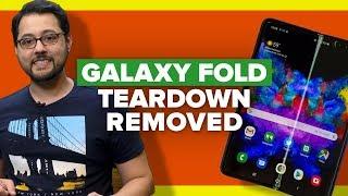 Galaxy Fold teardown removed due to Samsung pressure (Alphabet City)