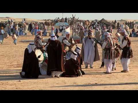 GlobeTrotter Jon Haggins TV at The 42 Sahara Festival in Douz, Tunisia