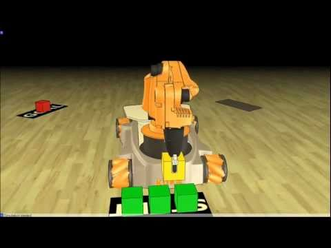 Robot Simulator: V-REP Demo Video July 2011