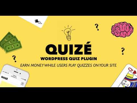 Quizé - WordPress Quiz Plugin Create & Monetize Quizzes