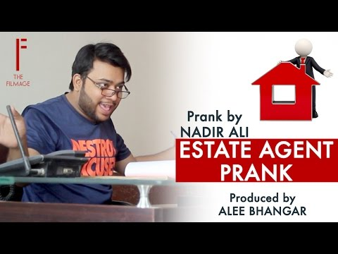 || Estate Agency Prank || By Nadir Ali in || P4 Pakao ||